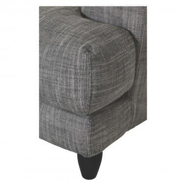 Серый тканевый диван