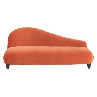 Софа Orange Velvet